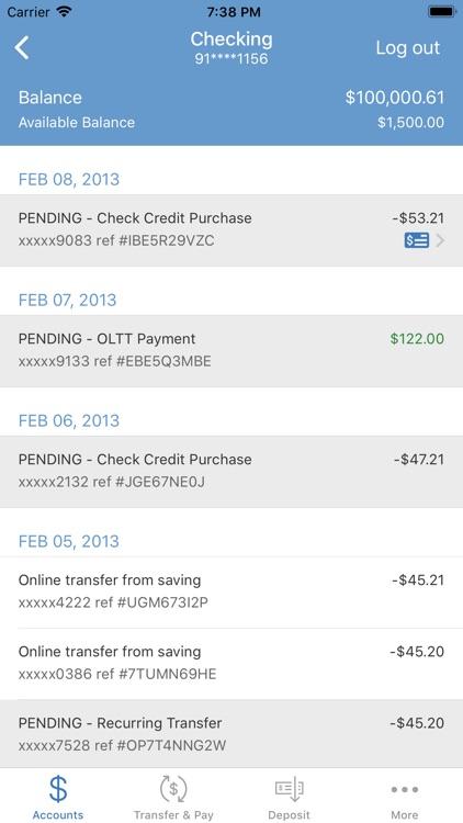 Chessie FCU Mobile Banking screenshot-3