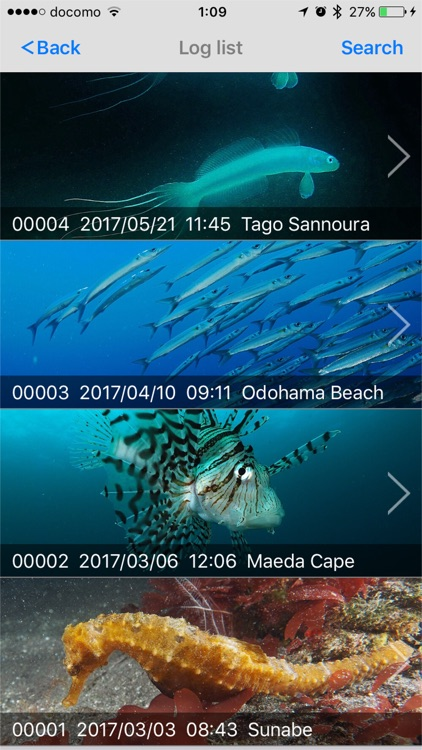 Diving Log screenshot-4