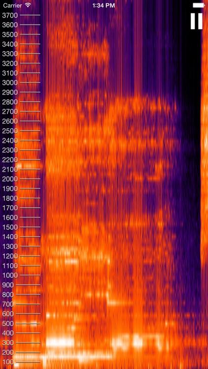 Live Spectrogram screenshot-3