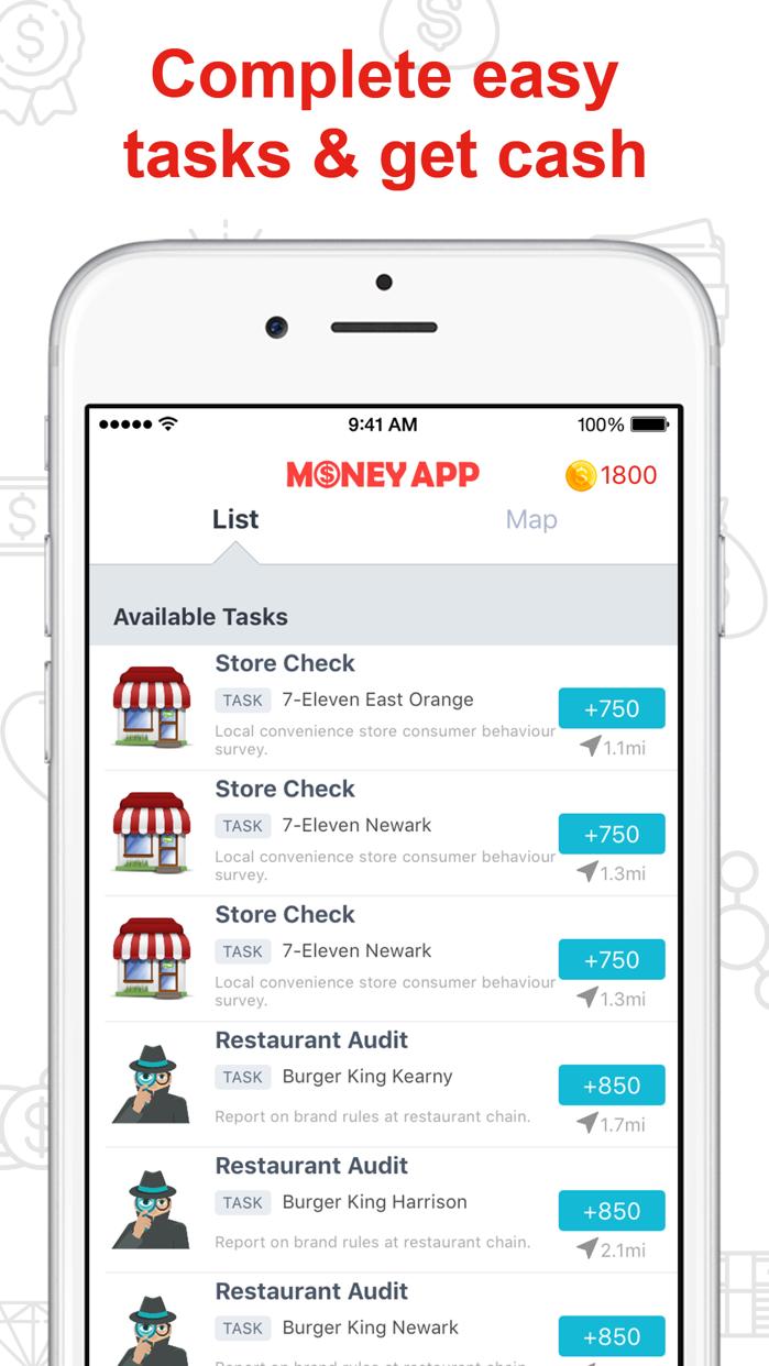 Money App – Cash & Rewards App Screenshot