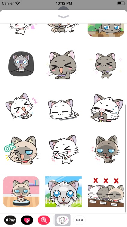 Little Cats Animated Stickers