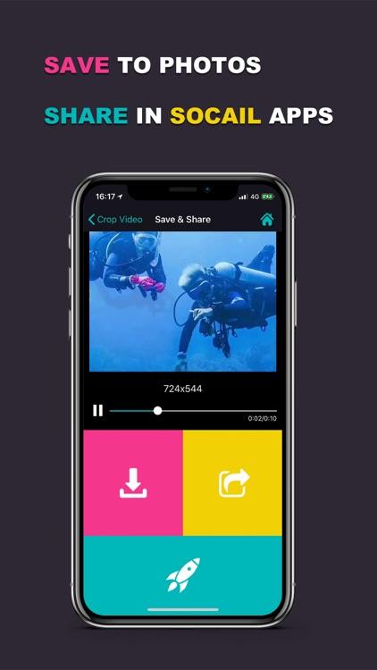 Video Cropper - Crop Videos screenshot-3