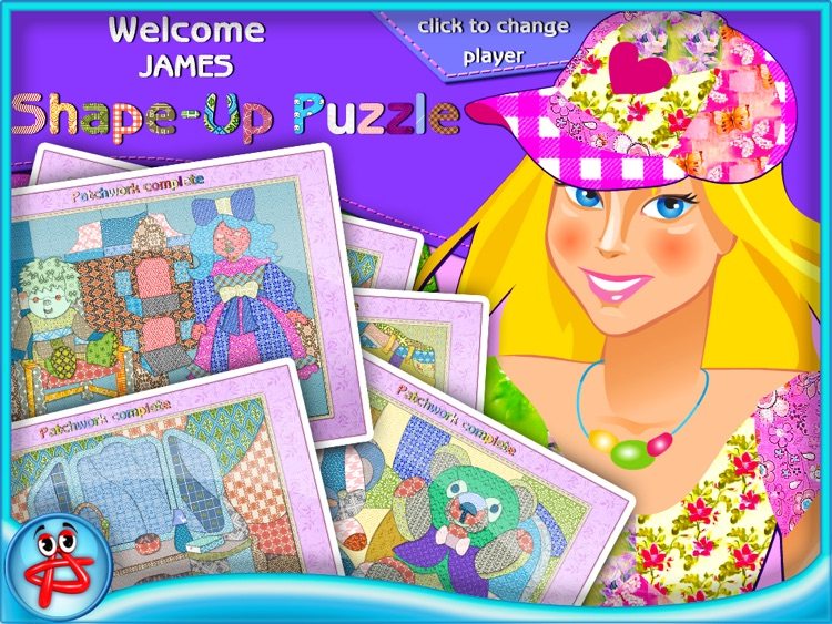 Shape Up Puzzle for Girls