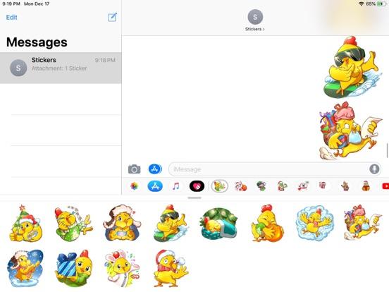 Christmas Chicken Chuu Sticker screenshot 5