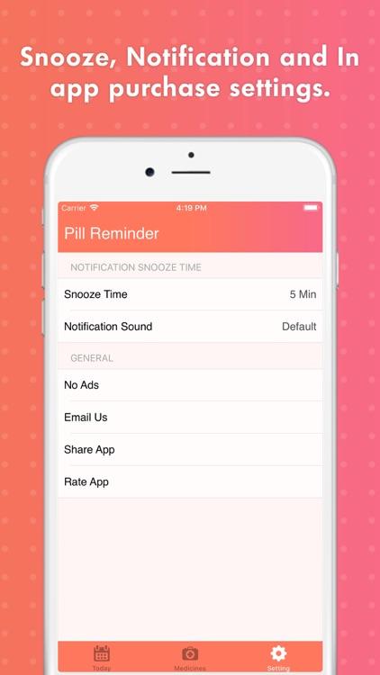 Smart Pill Reminder Tracker screenshot-4