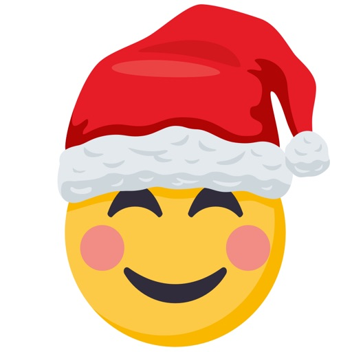 Santa Smiley Pack: by EmojiOne