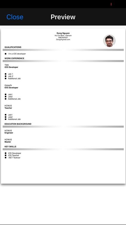 Resume Studio Pro screenshot-4
