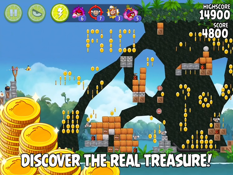 Angry Birds Rio HD screenshot-3