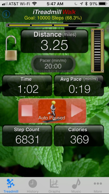 iTreadmill Pedometer screenshot-0