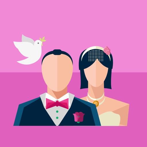 Wedding Love Stickers