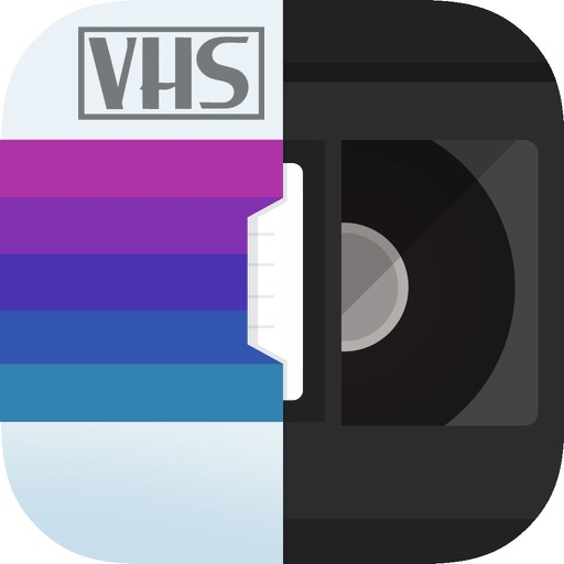 RAD VHS Camera Effects - Retro Video Camcorder app logo