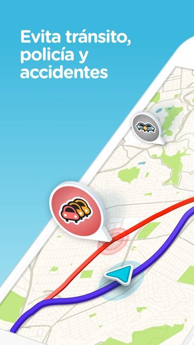 Screenshot for Waze Navegación y Tráfico in Argentina App Store