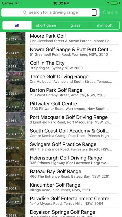 RangeNearMe golf practice driving range directory screenshot-4