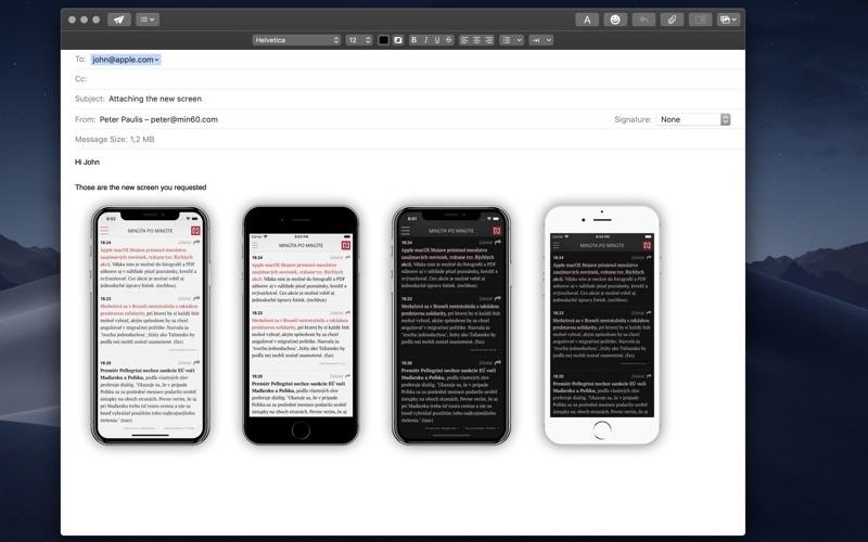Vernissage Pro - Mockup Studio Screenshots