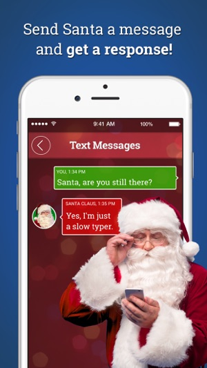 Message from santa on the app store screenshots spiritdancerdesigns Image collections