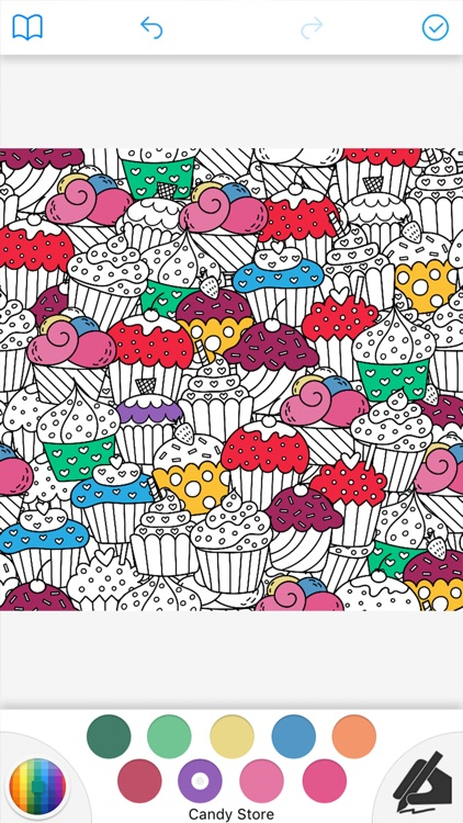 Adult Coloring Book Pages screenshot-3