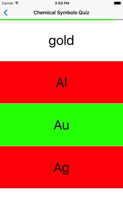 Chemical Symbols Quiz screenshot-4