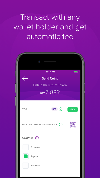 BF Wallet: Bnk To The Future screenshot two