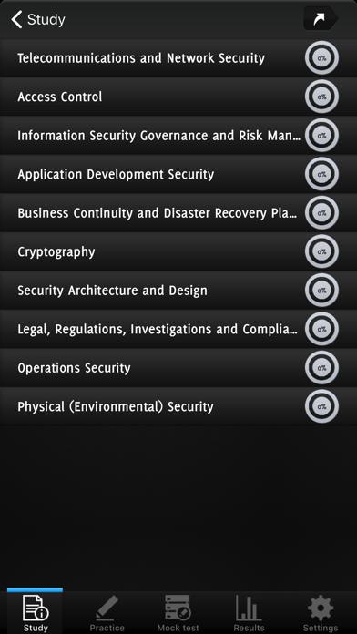 CISSP Exam Questions screenshot 2