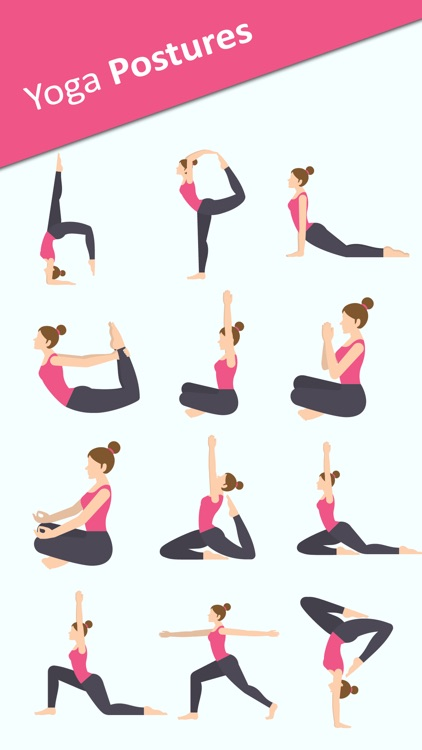 Yoga Sticker Pack - BodyBuilder,Meditation Sticker
