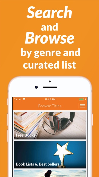 Screenshot for Audiobooks.com: Audio Books in United States App Store