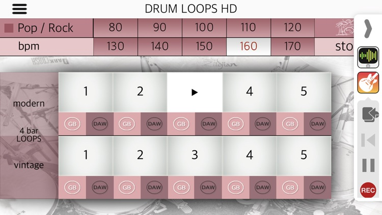 Drum Loops HD screenshot-3