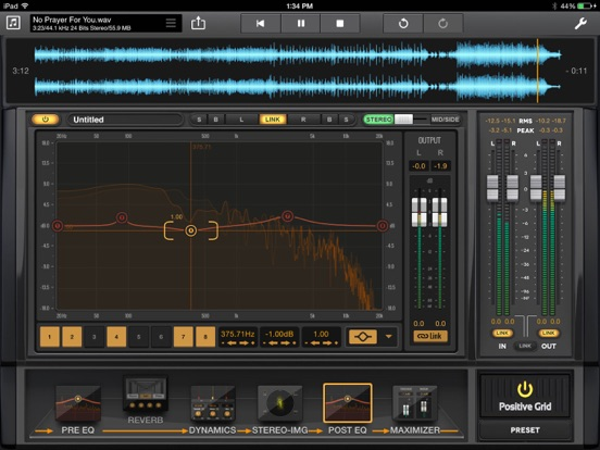 Final Touch - Audio Mastering and Post Production Screenshot