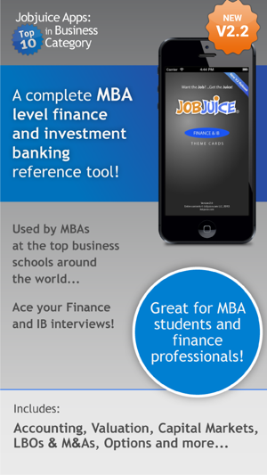 ‎Jobjuice Fin. & Inv. Banking Screenshot