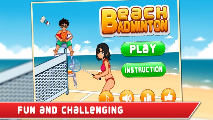 Beach Badminton