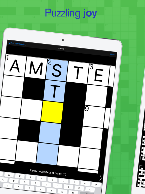 Cryptic Crossword screenshot