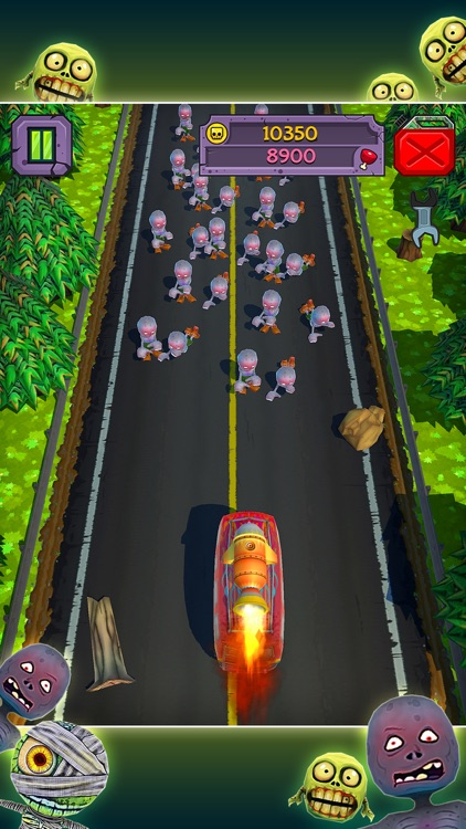 Truck Zombie Game screenshot-3
