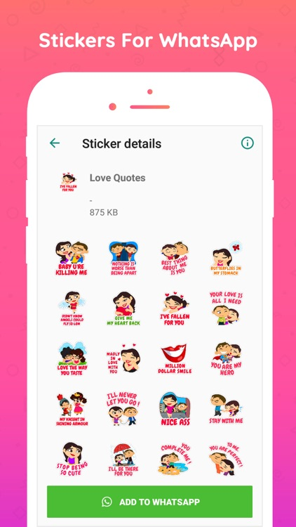 Stickers for whatsapp Chats by Jay Bakshi