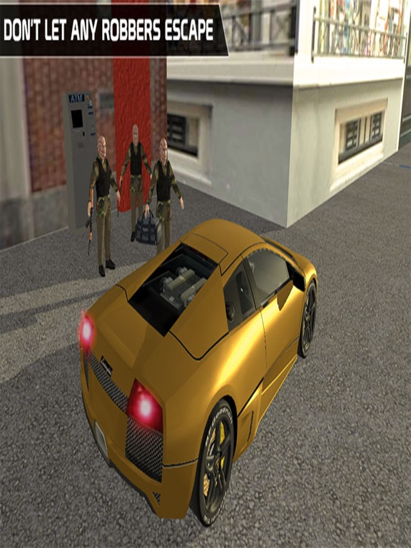 ATM Bank Robbery; Police Squad-ipad-1