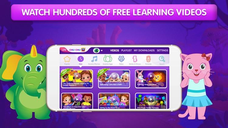 ChuChu TV Nursery Rhymes Lite screenshot-0