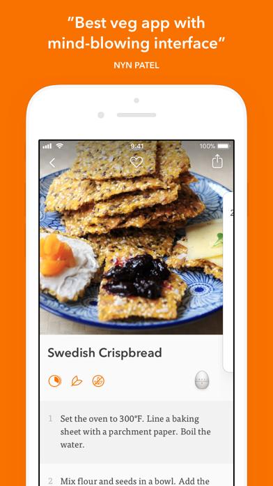 Veggie Meals review screenshots