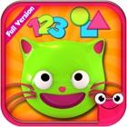EduKitty-学习颜色、形状和数字的教育性游戏 icon