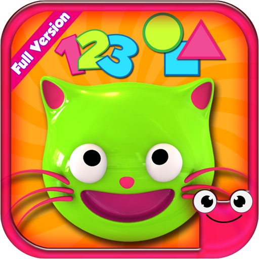 Preschool EduKitty-Amazing Early Learning Fun Educational Quiz Games for  Toddlers and Preschoolers To Learn Numbers,Colors,Sounds,Shapes,Math,Memory