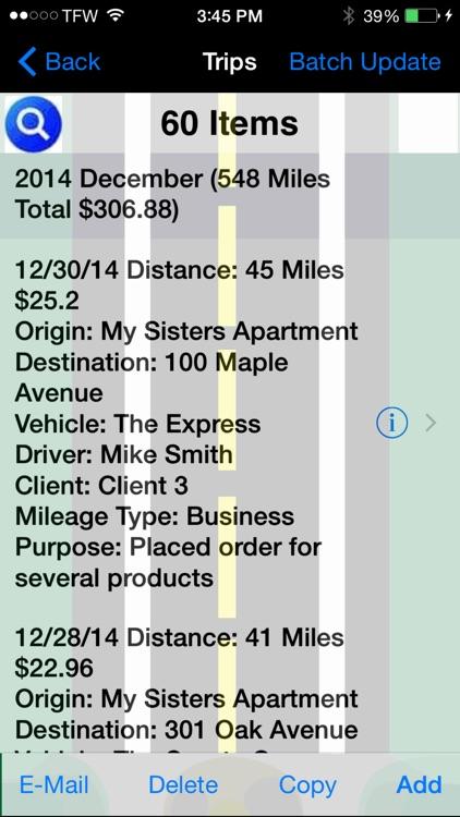 Track My Mileage screenshot-3