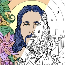 Bible Coloring by Number Game