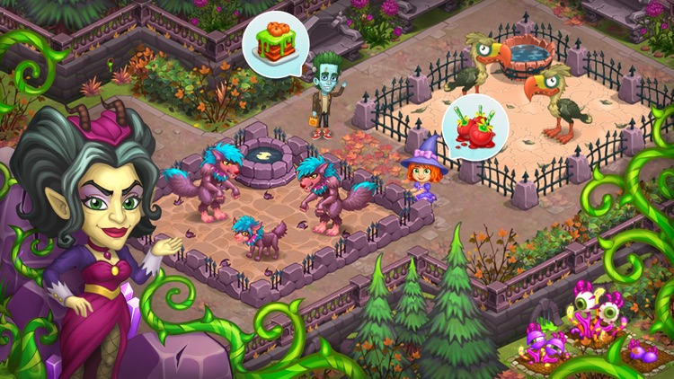 Monster Farm: Happy Halloween screenshot-6