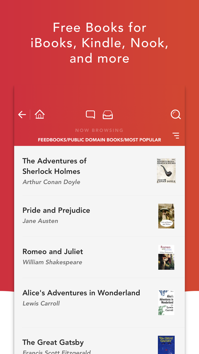 eBook Search - Books Library Screenshot