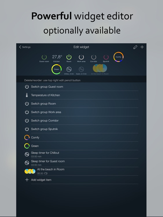 iConnectHue HD for Philips Hue screenshot-4