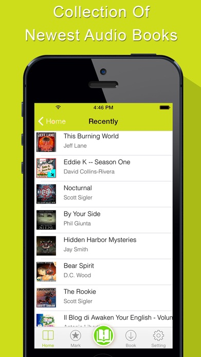AudioBook - Audio Books Player Screenshot