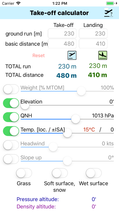 Screenshot for Take-Off Distance in Egypt App Store