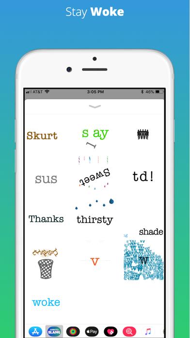 Animated Slang Stickers screenshot three