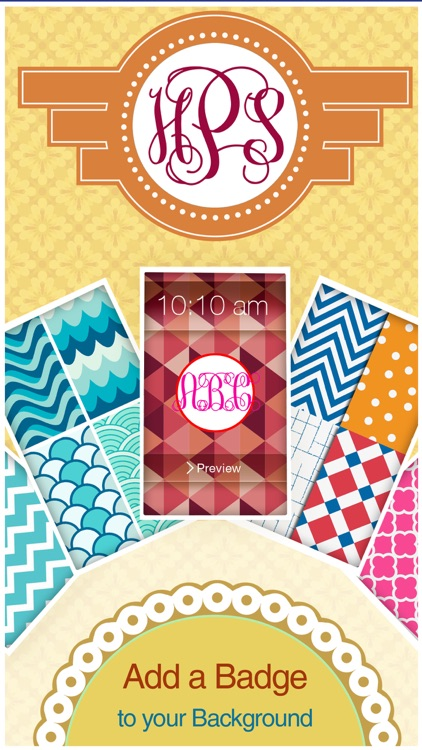 Monogram It! PRO on Wallpapers screenshot-4