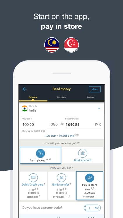 Transfer Money Western Union screenshot-3