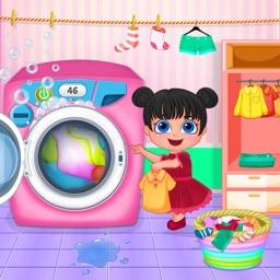 Baby Clothes Laundry Washing