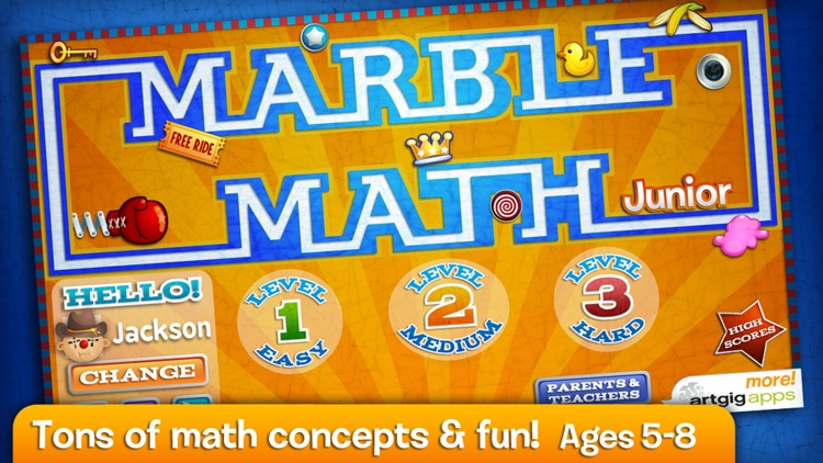 Marble Math Junior screenshot-0