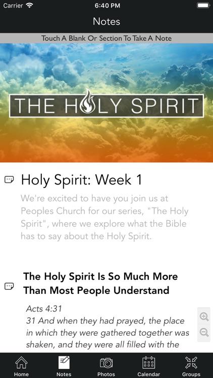 Peoples Church | Cincinnati screenshot-3